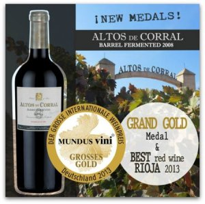 Spain wins another wine award.