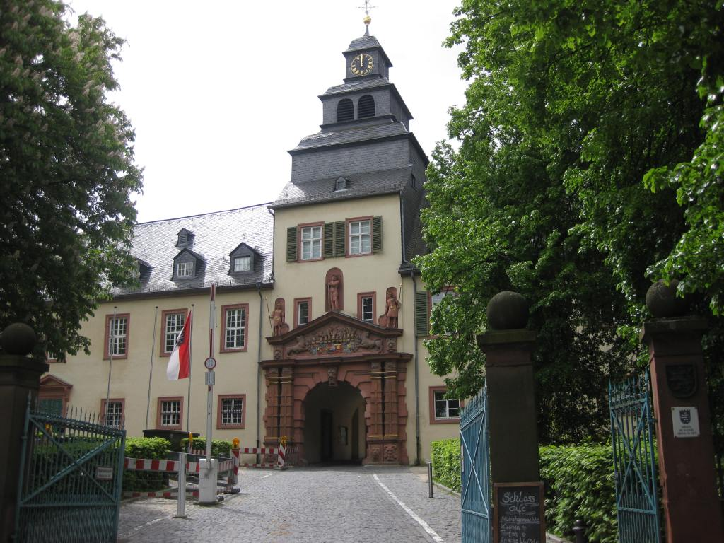 Bad Homburg castle and gardens