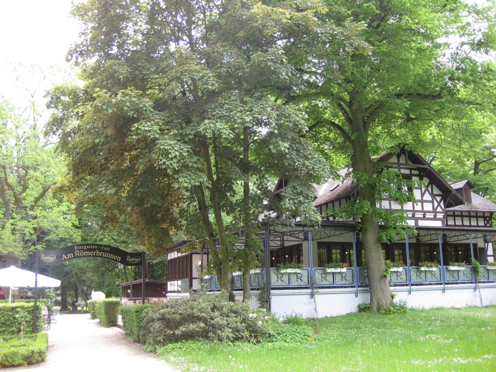 Roemerbrunner Restaurant (fine dining) within Kurpark, Bad Homburg