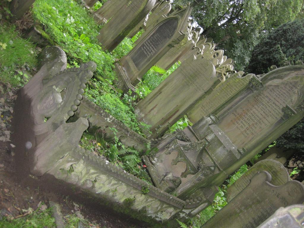Cemetery, Haworth, Yorkshire, England